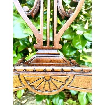 3 Salonowe Vintage Krzesła