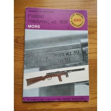 Pistolet maszynowy wz. 1939 Mors TBU 100 +wkładka