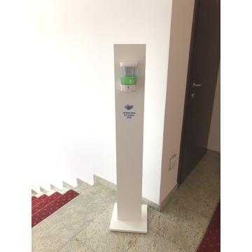 Dozownik automat. + stojak - stacja dezynfekująca
