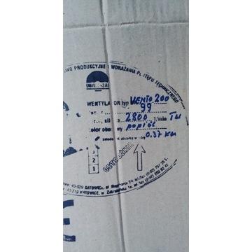 Wentylator kanałowy Vento 200 230 V