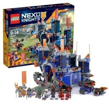 JAK NOWY  Lego Nexo Knights 70317 zamek Fortrex