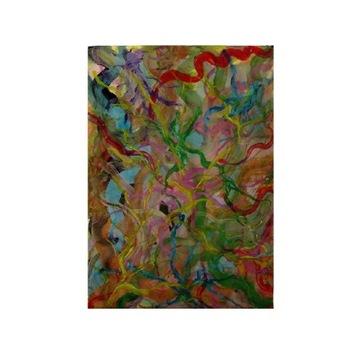Abstrakcja conceptual sztuka obrazy nowoczesne