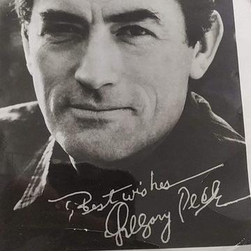 Sprzedam Oryginalny autograf Gregory Peck