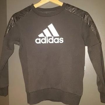 Bluza Adidas 140 9-10 lat z kieszenią na zamek