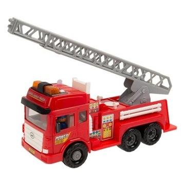 Smiki, Fire Truck, straż pożarna, światło i dźwięk