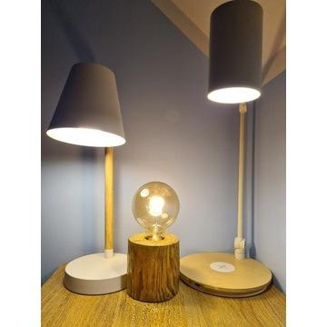 3 lampki nocne + żarówki