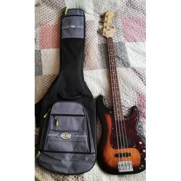 Gitara basowa CHERI z 93r. - precel-jazz w jednym
