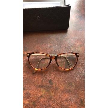 Okulary GUCCI oryginalne, etui + gratis szkła zero