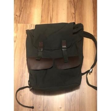Okazja! Ciemny oliwkowy plecak Pier One NOWY