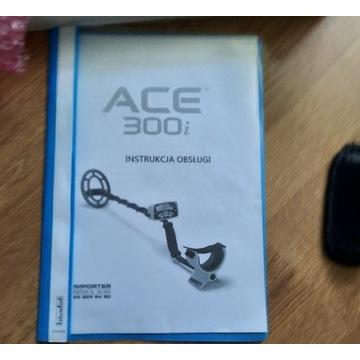 Wykrywacz metalu garret ace300i, detektor, złoto