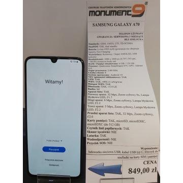 Samsung Galaxy A70 Dual SIM GWARANCJA