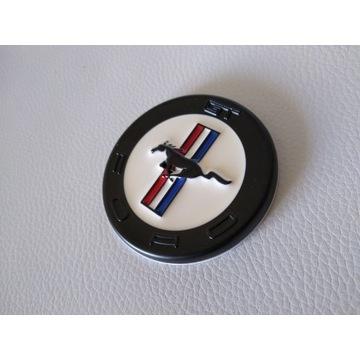Emblemat Ford Mustang GT CZARNY 60mm Metalowy