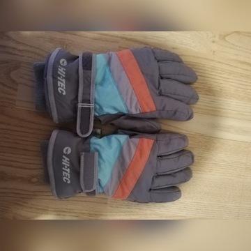 Rękawice narciarskie juniorskie Hugi Jr HiTec L/XL