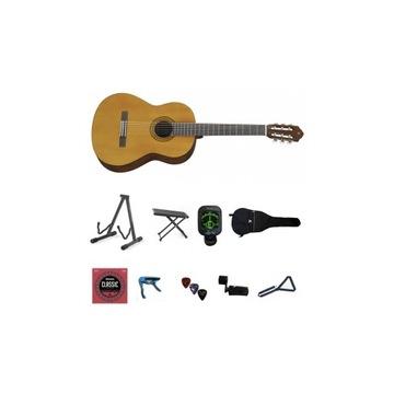 Gitara klasyczna YAMAHA C-40 II M4/4 pakiet XL