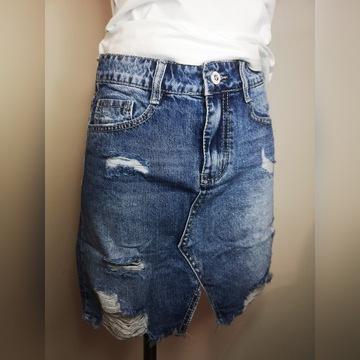 Jeansowa spódniczka rozm.S,M,L