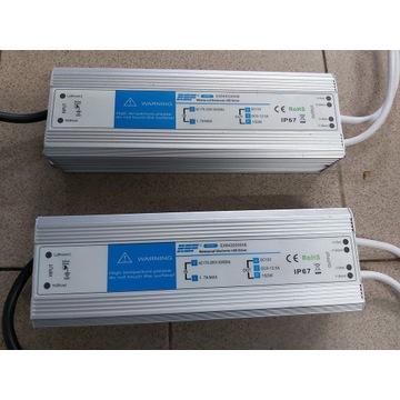 Zasilacz do taśm LED wodoodporny 150W 12V I67