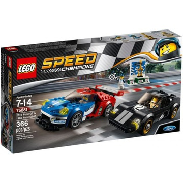LEGO 75881 SPEED CHAMPIONS FORD GT 2016 GT40 1966