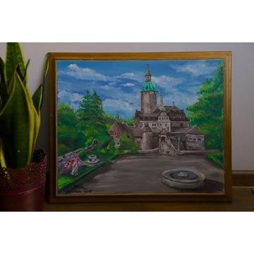 Zamek Czocha - akryl na płótnie 2015