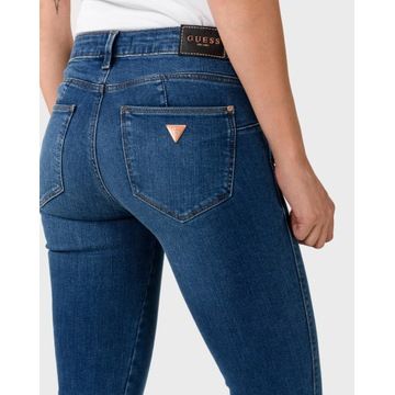 GUESS NOWE JEANSY PUSH UP SKINNY FIT CURVE W25 L30