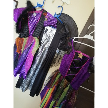 Stroje kostiumowe dla dziewczynek 8-10 lat 128-140