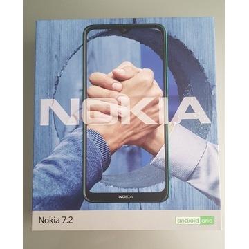 Nokia 7,2 64GB NOWY miętowy
