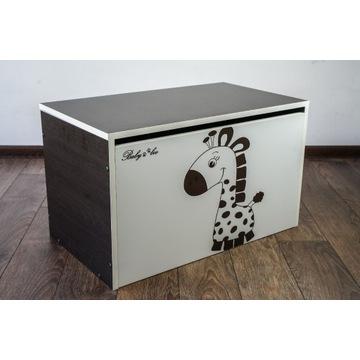 Pojemnik na zabawki BABY BOO Brązowa żyrafa