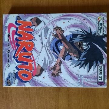 Naruto manga tom 27