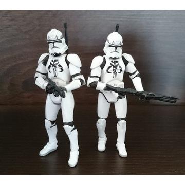 Figurki STAR WARS Clone Trooper Mandalorian Elite