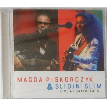 Magda Piskorczyk & Slidin' Slim, Live