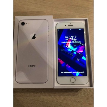 iPHONE 8 256GB biały