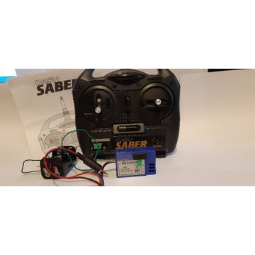 Zdalne sterowanie modeli  Sanwa AM TX 54