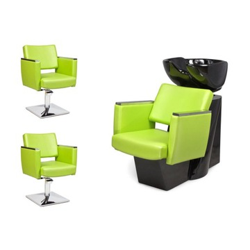 2 x Fotel Fryzjerski + Myjnia Fryzjerska CASTANTO