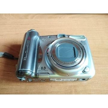 Aparat Canon power shot A720 IS  8.0mega pixels