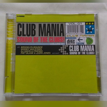 Club Mania. Sound of the Clubs! Vol. 01