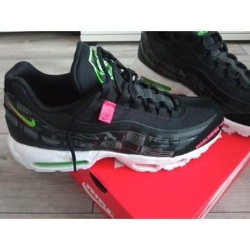 Nike air max 95 we Nowe us9,5, 27,5 cm  czarne