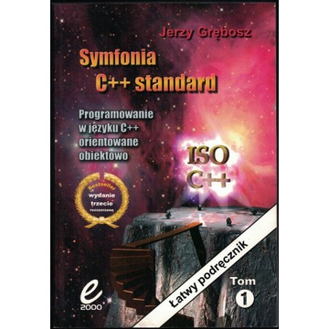 Symfonia C++ Grębosz Wydanie 3B Tom 1+2 (miękka)