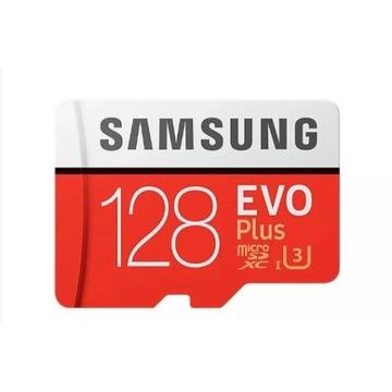 Samsung Evo - MicroSD 128GB - Oryginalna