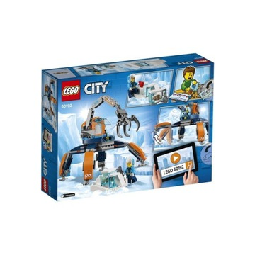 LEGO City 60192 Arktyczny łazik lodowy