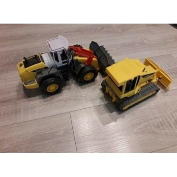 Koparka i buldożer