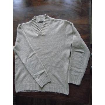 sweter męski karo