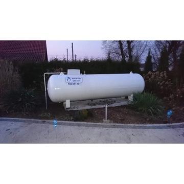 zbiornik na gaz 4850 naziemny