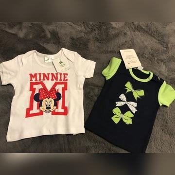 ubranka niemowlęce dziewczynka 80 86 92 nowe lato