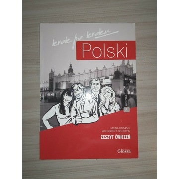 Polski krok po kroku (A1) Zeszyt ćwiczeń 1 + CD