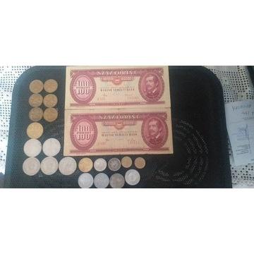 Zestaw Banknotów i monet WEGRY