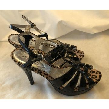Ann Michelle - NOWE buty z USA - panterka 41