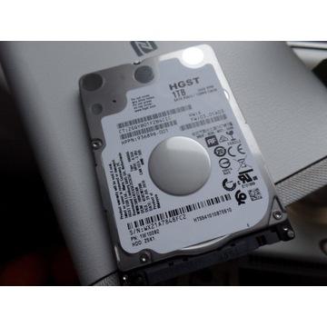 Dysk twardy HDD 1000GB, HGST, 2,5 cala