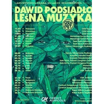 Bilety na koncert Dawida Podsiadło Leśna muzyka