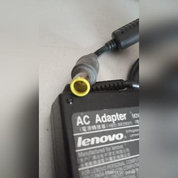 zasilacz Lenovo  20v 4.5A