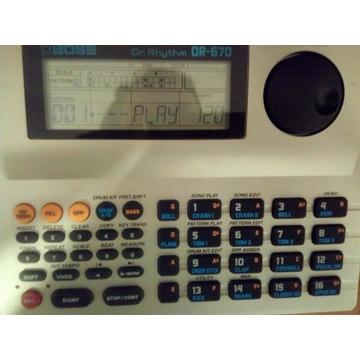 Automat perkusyjny Boss Dr-670 (zasilacz gratis)