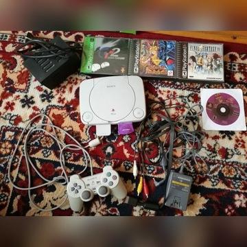 Konsola PS1 PSX + Gry